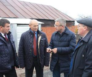 Министр транспорта и дорожного хозяйства Чувашской Республики Владимир Иванов ознакомился с состоянием дорог Козловского района