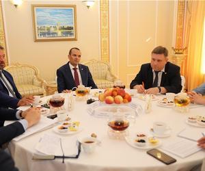 Глава Чувашской Республики Михаил Игнатьев встретился с представителями ведущих средств массовой информации.