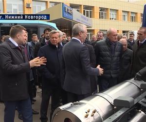 Глава Чувашии Михаил Игнатьев в Нижнем Новгороде принял участие в расширенном заседании по развитию рынка газомоторного топлива