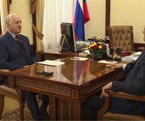Глава Чувашии Михаил Игнатьев встретился с председателем Общественной палаты республики Алексеем Судленковым