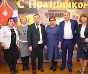 Празднование Дня Российской и чувашской печати