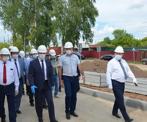 Сегодня Козловский район с рабочим визитом посетил временно исполняющий обязанности Главы Чувашской Республики Олег Николаев